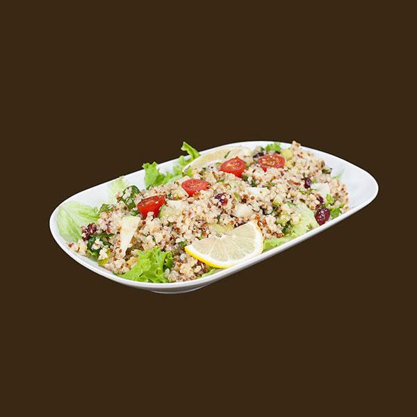 salade au quinoa, quinoa salad, homemade salad, salade maison
